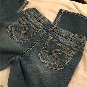 Silver Jeans suki bootcut.